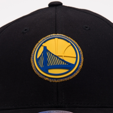 Mitchell Ness NBA Golden State Warriors Biowashed Zig Zag Snapback kepurė