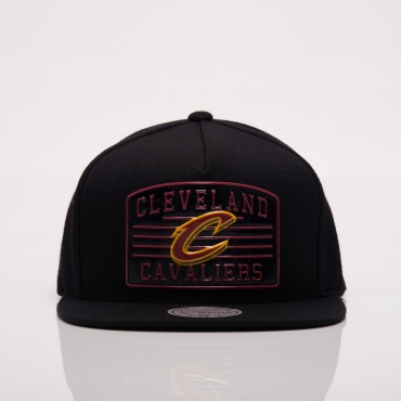 Mitchell Ness NBA Cleveland Cavaliers Weald Patch Snapback Cap