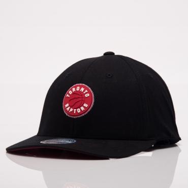 4315ca3e766228 Mitchell Ness NBA Toronto Raptors Biowashed Zig Zag Snapback Cap ...