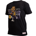 Mitchell & Ness Caricature Los Angeles Lakers Magic Johnson marškinėliai