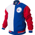 Mitchell & Ness NBA Philadelphia 76ers Team History Warm Up Jacket 2.0