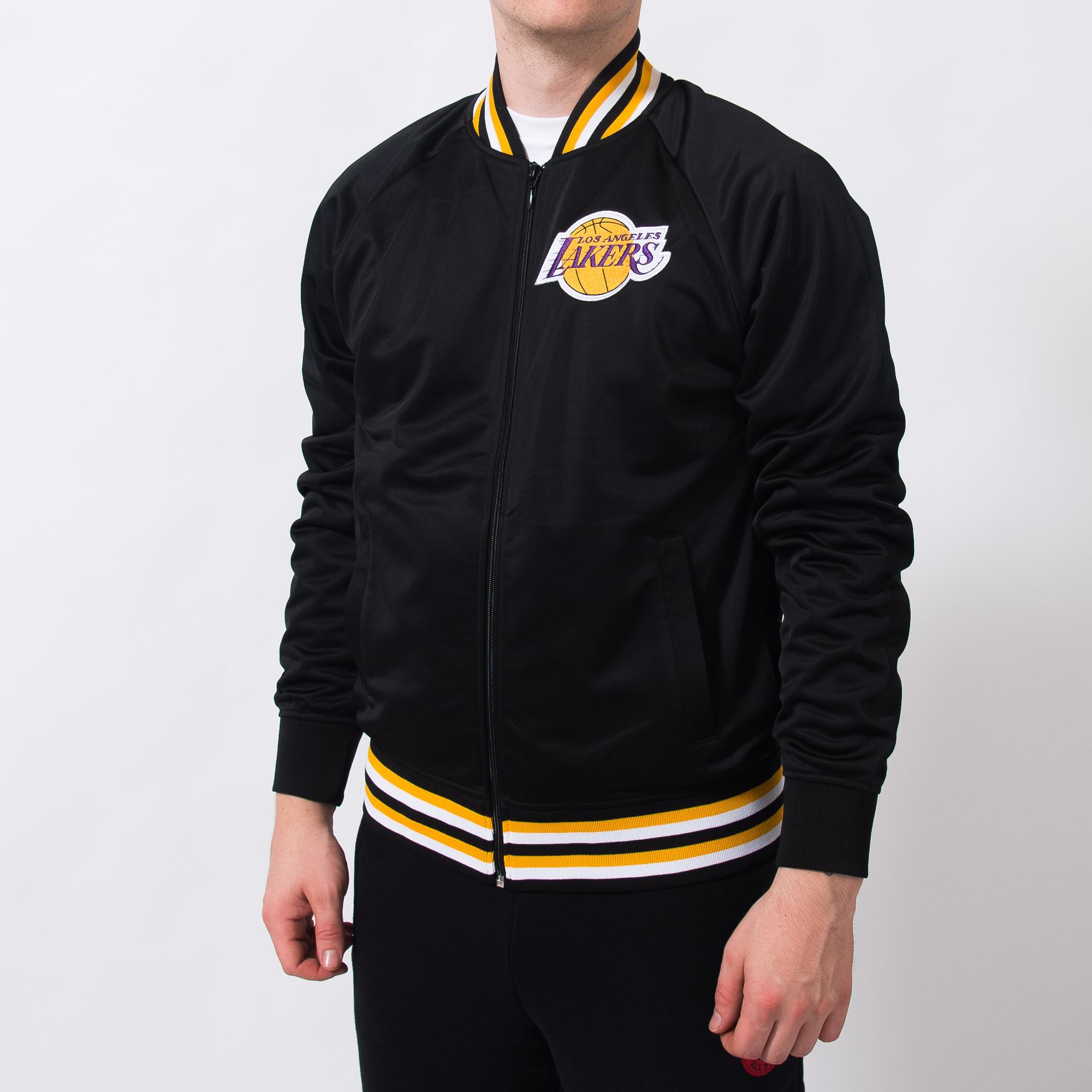 watch 7e374 0b763 Mitchell & Ness NBA Los Angeles Lakers Top Prospect Jacket ...
