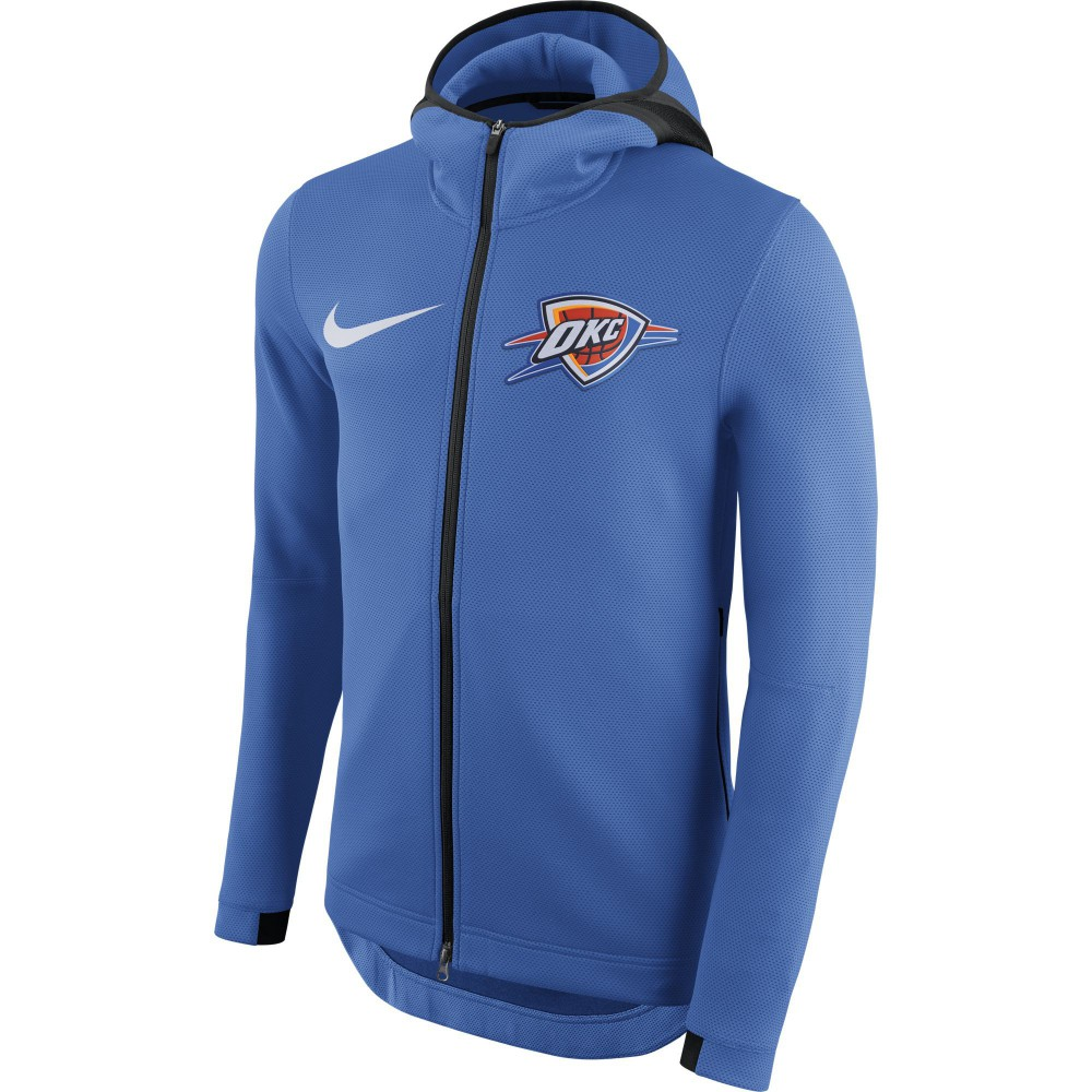 official photos f5b10 8a775 Nike NBA Oklahoma City Thunder Therma Flex Showtime Hoodie ...