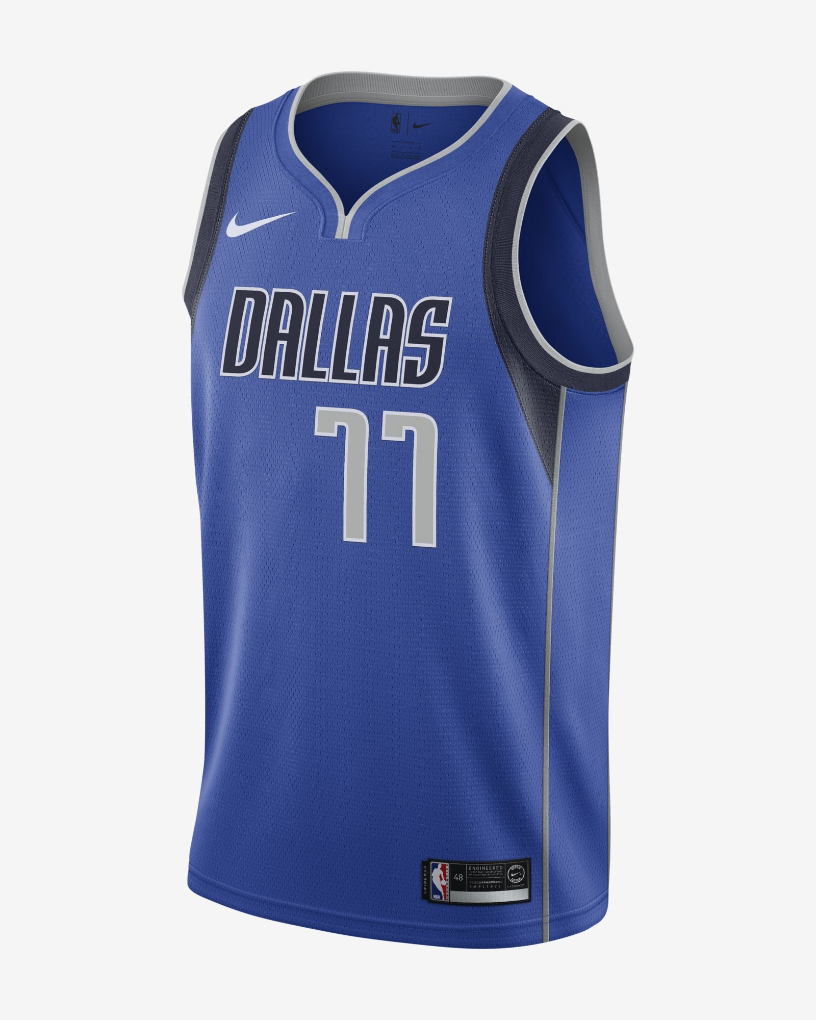 fccd8a744e5 Nike NBA Dallas Mavericks Luka Doncic Icon Edition Swingman Jersey - NBA  Shop Dallas Mavericks Merchandise - Superfanas.lt