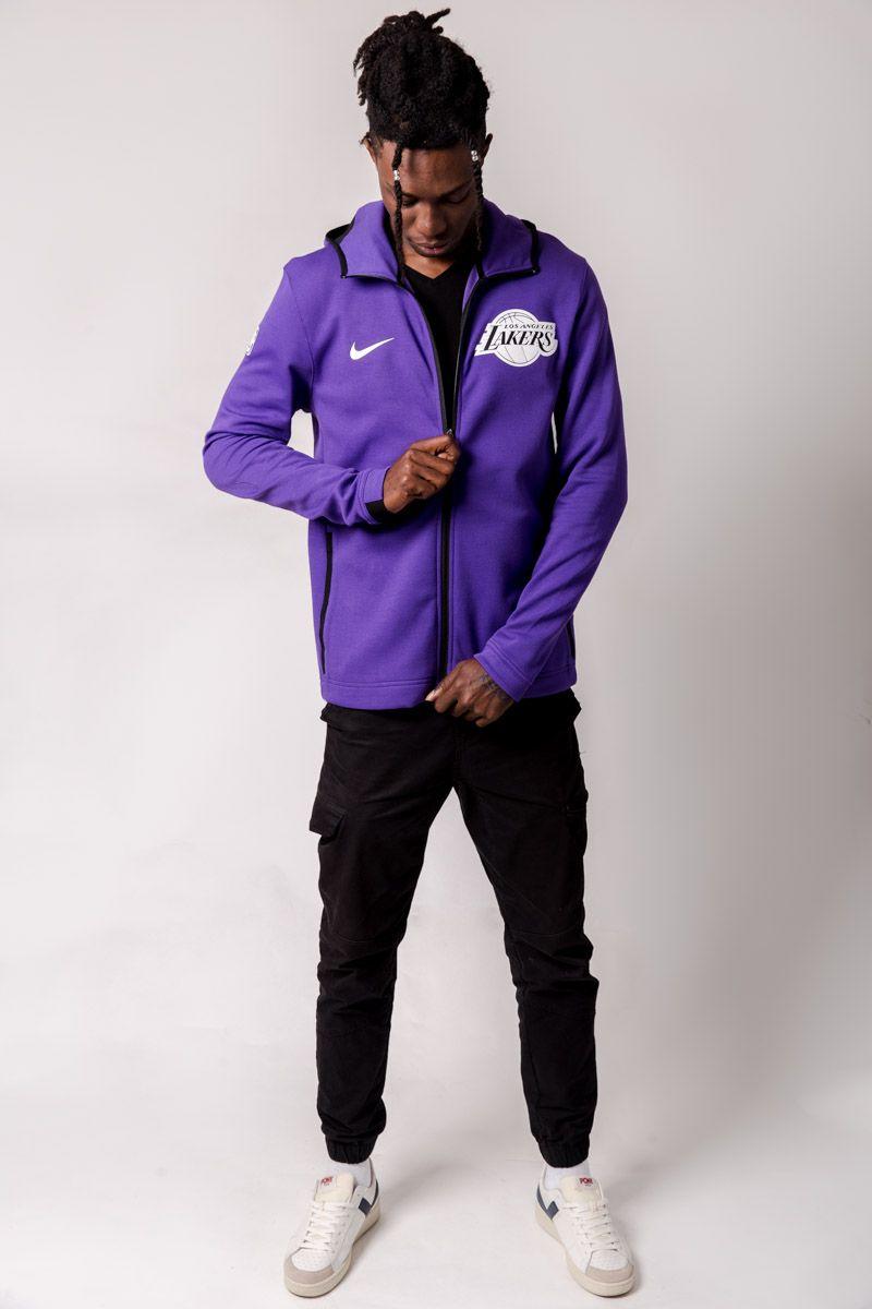 b8f7a37392cc3 Nike NBA Los Angeles Lakers Dry Showtime Hoodie - NBA Shop Los Angeles  Lakers Merchandise - Superfanas.lt