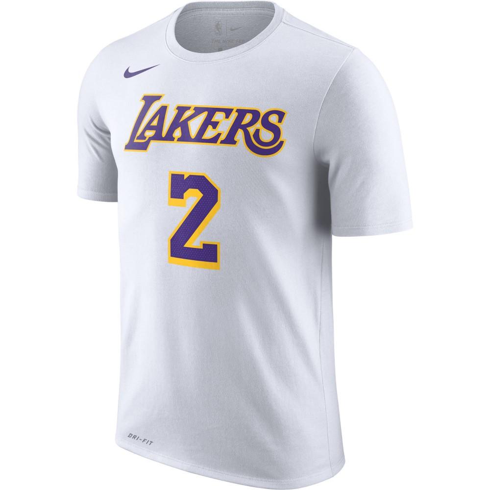 d7b7eaa1ed7 Nike NBA Los Angeles Lakers Lonzo Ball Dri-FIT Shirt - NBA Shop Los Angeles  Lakers Merchandise - Superfanas.lt