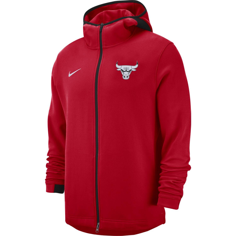 4a3994d7b8d Nike NBA Chicago Bulls Therma Flex Showtime Hoodie - NBA Shop Chicago Bulls  Merchandise - Superfanas.lt