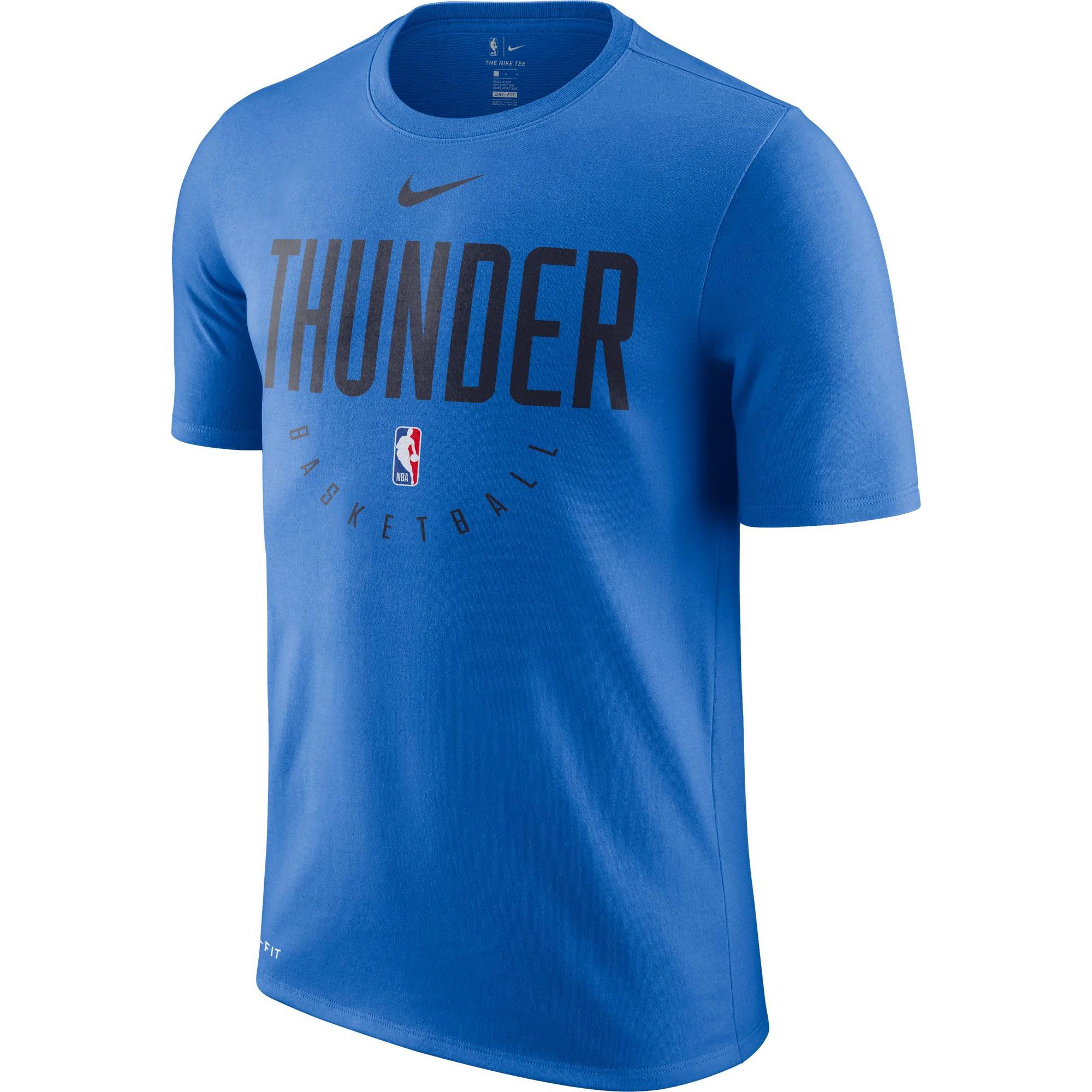 info for 8b911 e32fc Nike NBA Oklahoma City Thunder Dri-FIT Practice Shirt - NBA ...