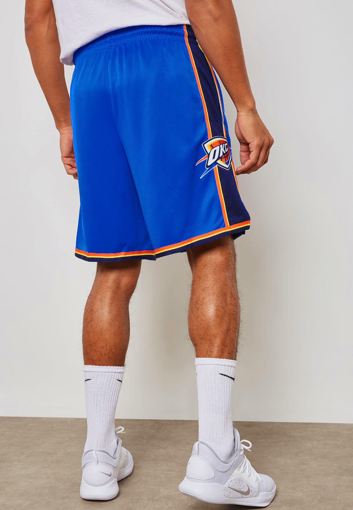 39e4cdb20 Nike NBA Oklahoma City Thunder Icon Edition Swingman Shorts - NBA ...