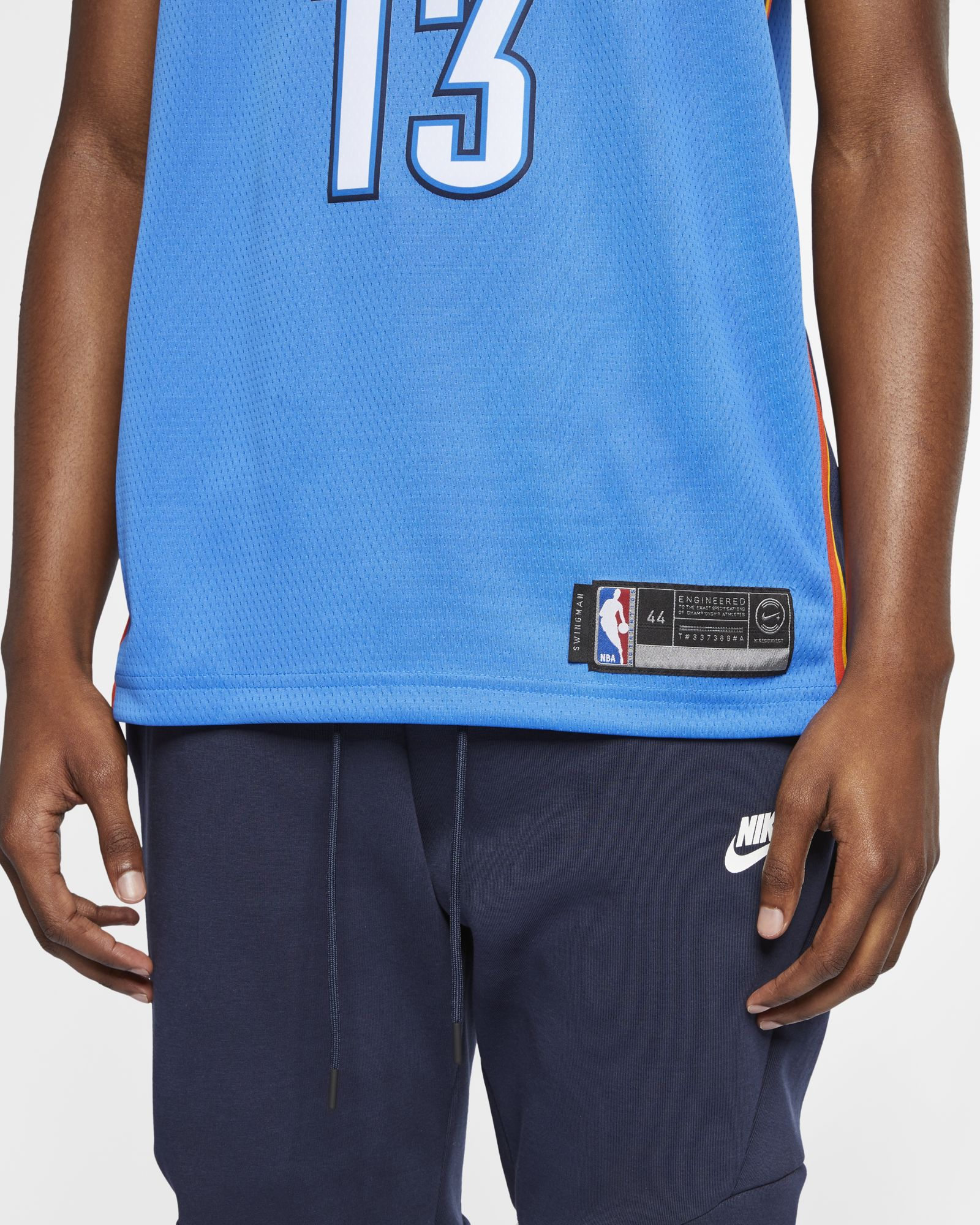 482643467f4f Nike NBA Oklahoma City Thunder Paul George Icon Edition Swingman Jersey