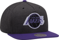 Mitchell & Ness NBA Los Angeles Lakers Woven Reflective Snapback kepurė