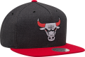 Mitchell & Ness NBA Chicago Bulls Woven Reflective Snapback Cap