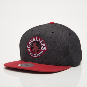 Mitchell & Ness HWC Cleveland Cavalier Woven Reflective Snapback Cap