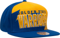 Mitchell & Ness NBA Golden State Warriors Shark Tooth Snapback Cap