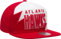 Mitchell & Ness NBA Atlanta Hawks Shark Tooth Snapback kepurė