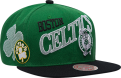 Mitchell & Ness NBA Boston Celtics Side To Side Snapback kepurė
