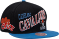 Mitchell & Ness NBA Cleveland Cavaliers Side To Side Snapback Cap