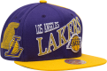 Mitchell & Ness NBA Los Angeles Lakers Side To Side Snapback kepurė