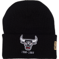 Mitchell & Ness HWC Chicago Bulls Logo Knit Beanie