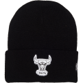 Mitchell & Ness HWC Chicago Bulls Reflective Logo Knit Beanie