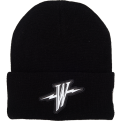 Mitchell & Ness HWC Golden State Warriors Reflective Logo Knit Beanie