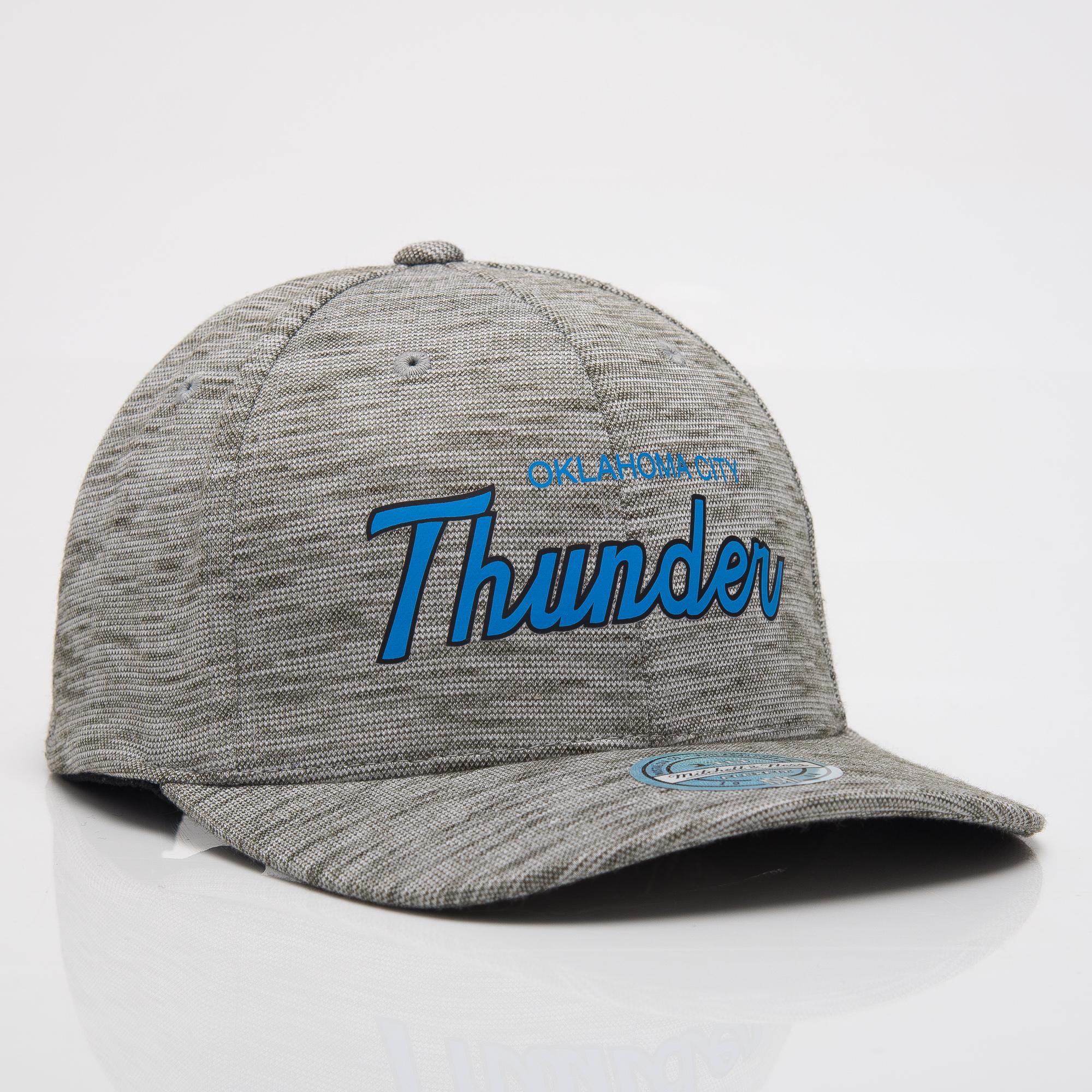 d42686a3 Mitchell & Ness NBA Oklahoma City Thunder Slub Print 110 Snapback Cap - NBA  Shop OKC Thunder Merchandise - Superfanas.lt