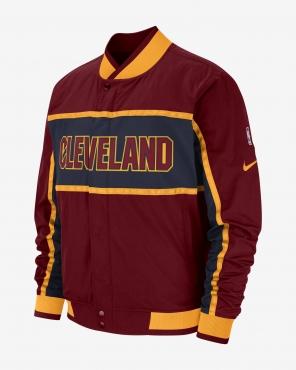 7ea2099e97e55 Nike NBA Cleveland Cavaliers Courtside Jacket - NBA Shop Cleveland ...
