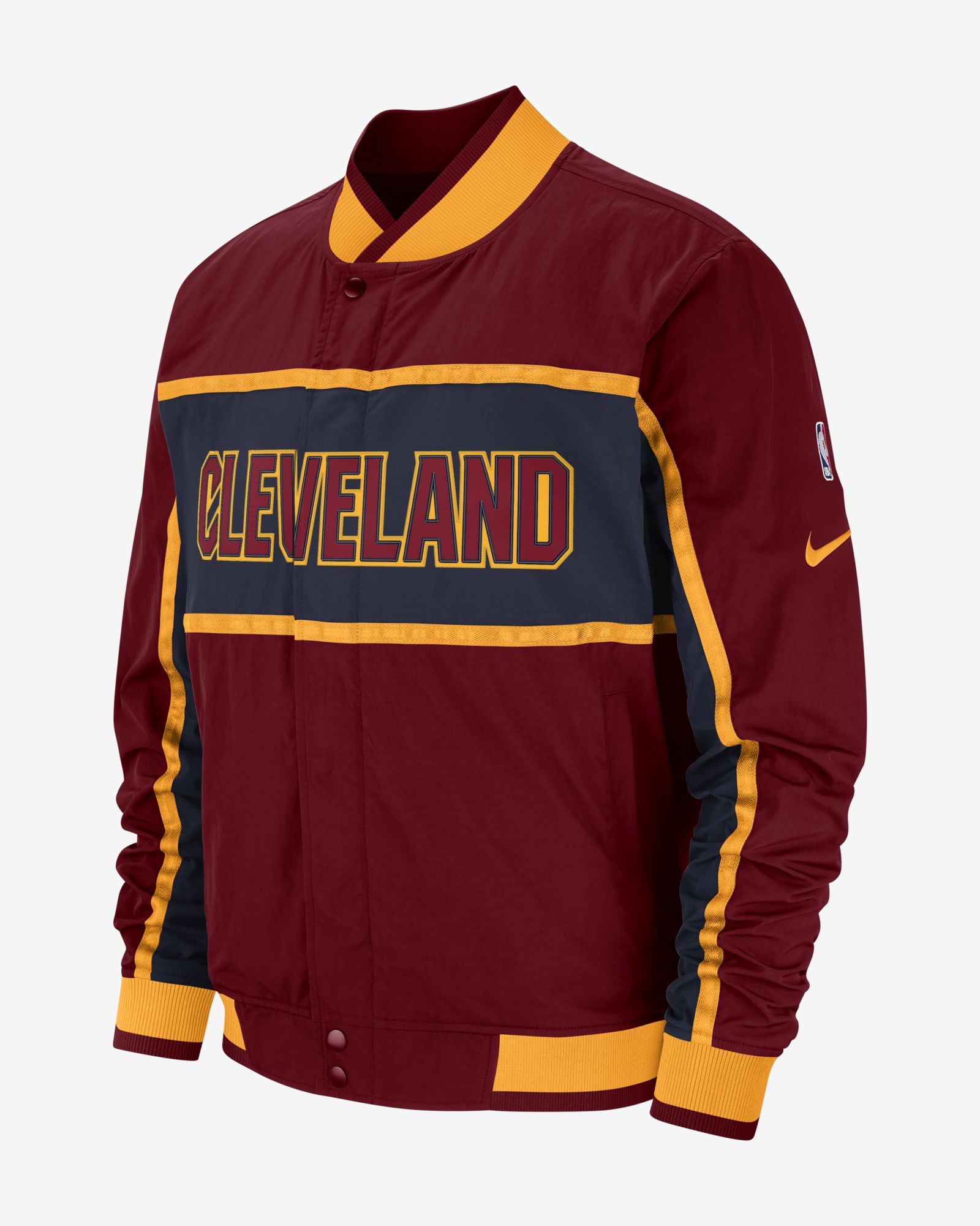 new arrival 2e52b 770d4 Nike NBA Cleveland Cavaliers Courtside Jacket - NBA Shop ...