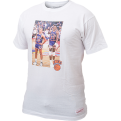 Mitchell & Ness New York Knicks Mark Jackson & Patrick Ewing Real Player Print Marškinėliai