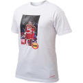 Mitchell & Ness Houston Rockets Hakeem Olajuwon & Clyde Drexler Real Player Print Tee