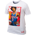 Mitchell & Ness NBA Slam Cover Allen Iverson Tee