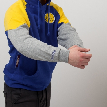 Mitchell & Ness NBA Golden State Warriors Trading Block Hoodie