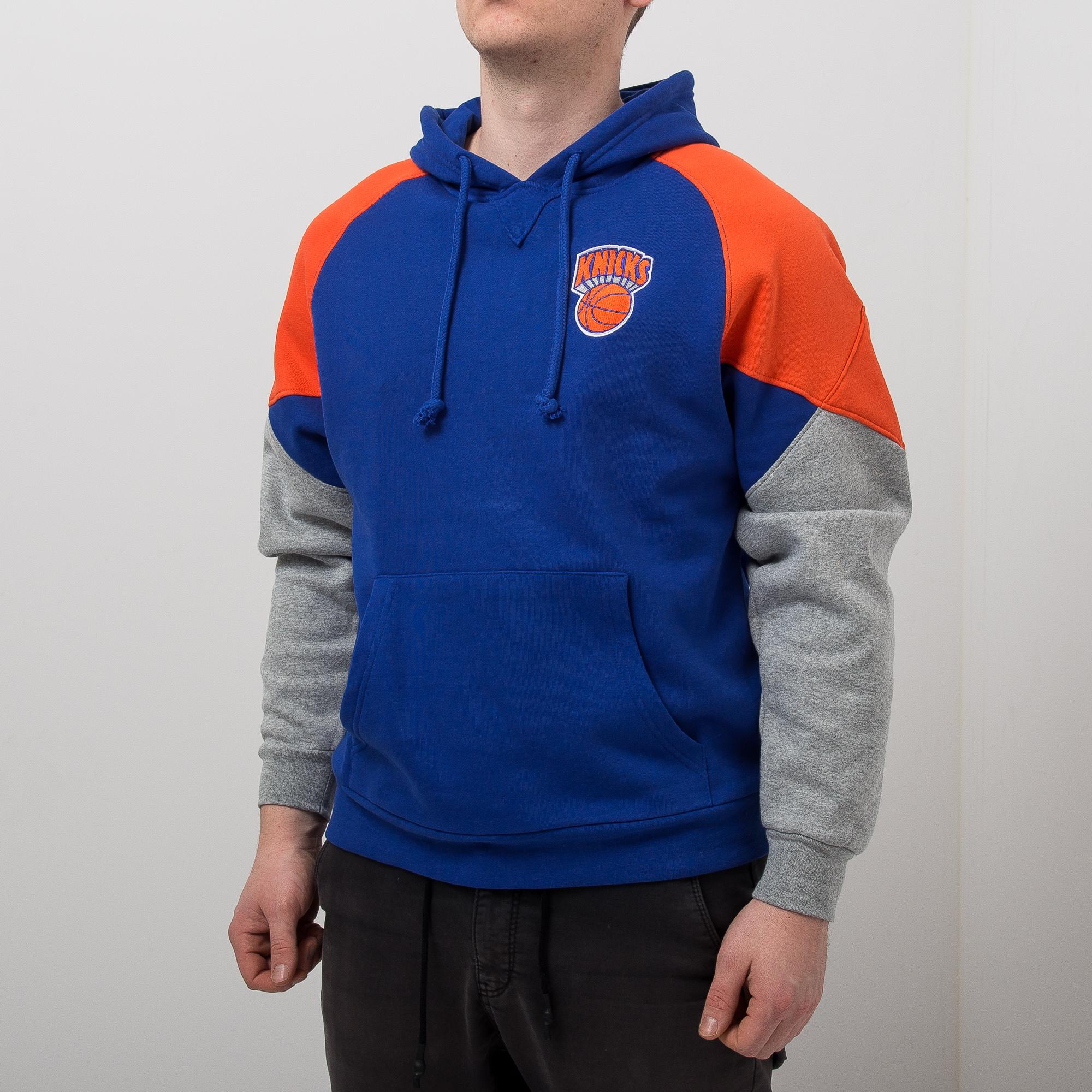 lowest price 10083 ca072 Mitchell & Ness NBA New York Knicks Trading Block Hoodie ...