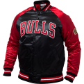 Mitchell & Ness NBA Chicago Bulls Tough Season Satin Jacket
