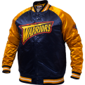 Mitchell & Ness NBA Golden State Warriors Tough Season Satin Jacket
