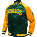 Mitchell & Ness NBA Seattle SuperSonics Tough Season Satin Jacket