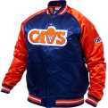 Mitchell & Ness NBA Cleveland Cavaliers Tough Season Satin Jacket