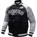 Mitchell & Ness NBA San Antonio Spurs Tough Season Satin Jacket