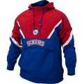 Mitchell & Ness NBA Philadelphia 76ers Half Zip Anorak Jacket