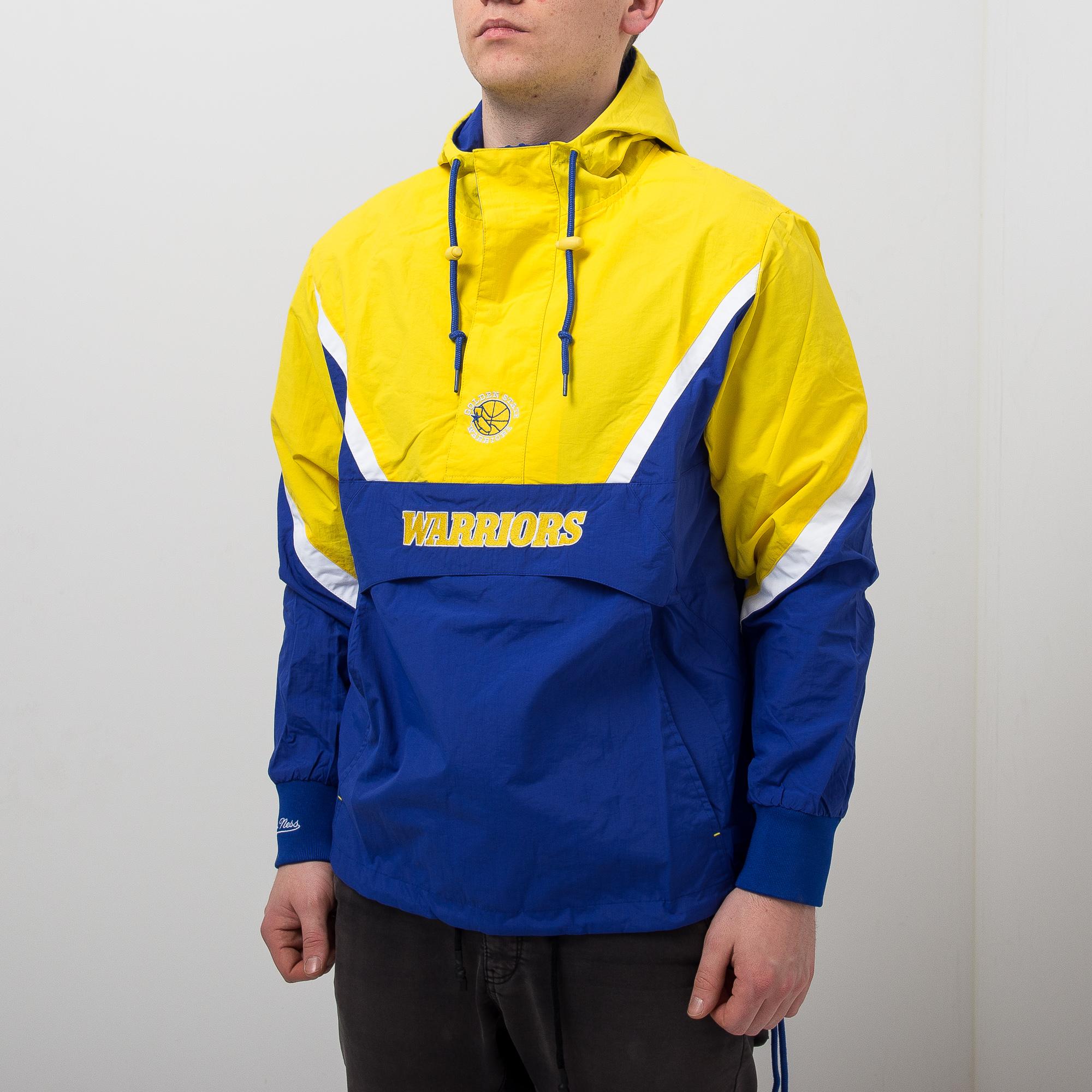 82e05c71b58 Mitchell   Ness NBA Golden State Warriors Half Zip Anorak Jacket - NBA Shop  Golden State Warriors Merchandise - Superfanas.lt