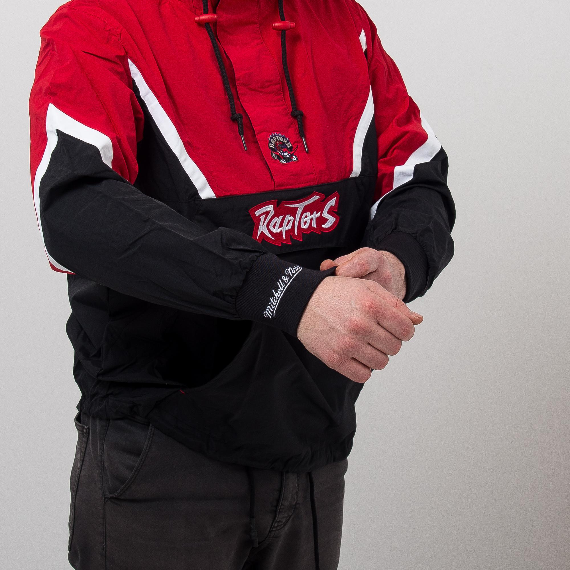1382dd42c9a Mitchell   Ness NBA Toronto Raptors Half Zip Anorak Jacket - NBA ...