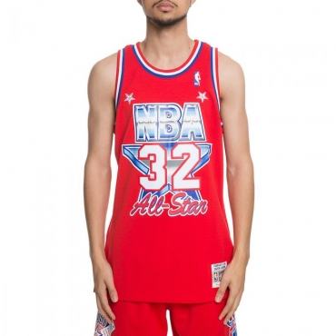 Mitchell & Ness NBA All-Star Magic Johnson 1991 West Swingman marškinėliai