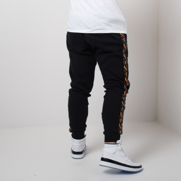 Mitchell & Ness NBA Golden State Warriors Taped Fleece Jogger kelnės