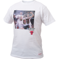 Mitchell & NessChicago Bulls Scottie Pippen, Ron Harper & Toni Kukoc Real Player Print Tee