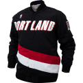 Mitchell & Ness NBA Portland Trail Blazers Authentic Warm Up plona striukė