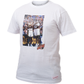 Mitchell & Ness Seattle SuperSonics Gary Payton & Shawn Kemp Real Player Print marškinėliai