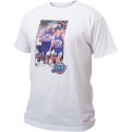 Mitchell & Ness Utah Jazz Karl Malone & John Stockton Real Player Print Tee