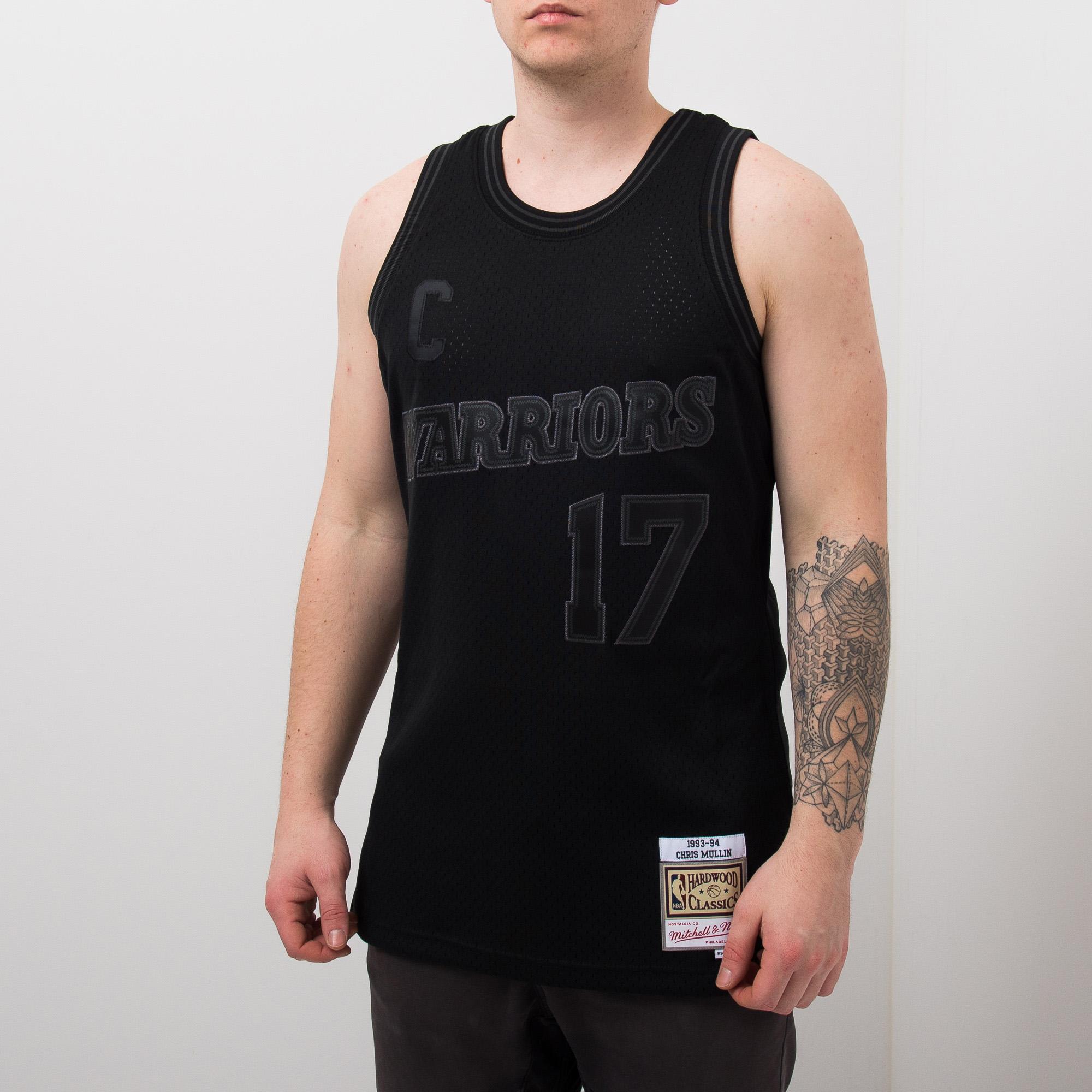 first rate d14f8 8298a Mitchell & Ness NBA Golden State Warriors Chris Mullin 17 ...