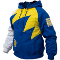 Mitchell & Ness NBA Golden State Warriors Shark Tooth Jacket
