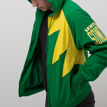 Mitchell & Ness NBA Seattle Supersonics Shark Tooth plona striukė